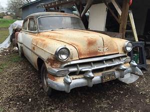 1954 Chevy Bel Air 4dr  Barn Find  For Sale