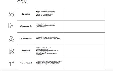 make your goals reachable with goal setting worksheets budget and the bees