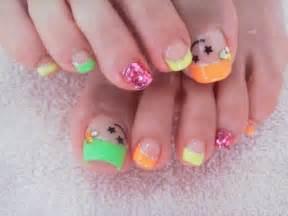 Nail designs toes art