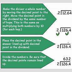 Field Home Page » Multiplication And Division For Fractions And Decimals