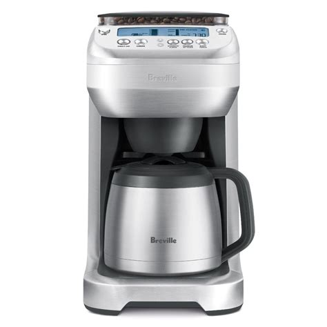 breville youbrew thermal carafe coffee maker  conical burr grinder cutlery