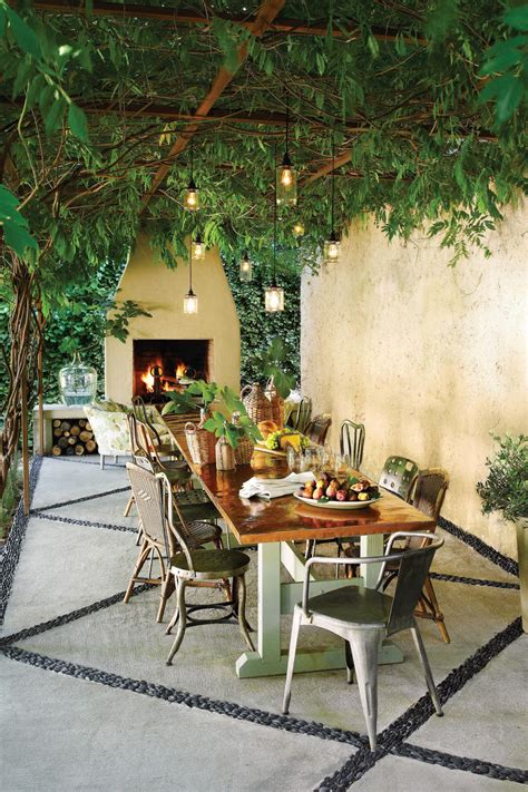 Outdoor Dining Furniture Ideas by Bright Outdoor Dining Ideas Southern Living