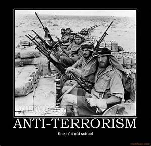 ANTI-TERRORISM army