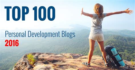 Top 100 Personal Development Blogs 2016 - The Start of ...