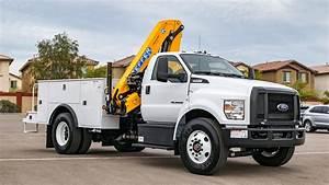 2017 Ford F-750 Uce Crane Truck Walkaround