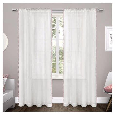 target semi sheer curtains 25 best sheer curtain panels ideas on
