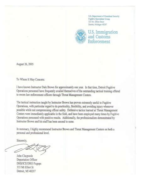 letter of recommendation for immigration letter of recommendation for immigration template business 3863