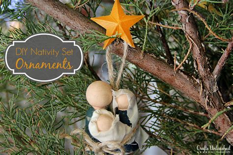 Distressing Wood Furniture by Nativity Set Ornaments A Great Holiday Gift For Anyone