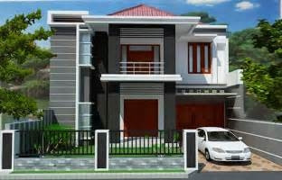 2 house designs 2 storey modern minimalist house design nyoke house design