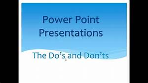 6th Grade Creating a Good PowerPoint Presentation - YouTube
