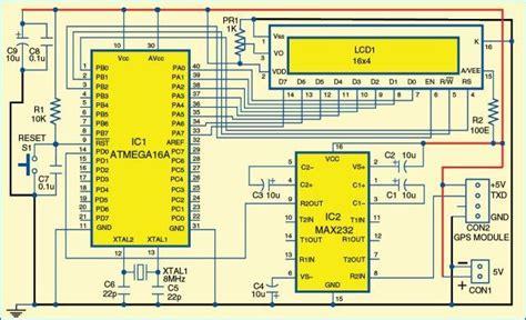 atmegaa based gps receiver electronics