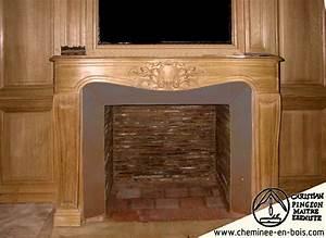Comment Habiller Une Cheminée Ancienne : cheminees en bois cheminees anciennes cheminees sur mesures ~ Melissatoandfro.com Idées de Décoration