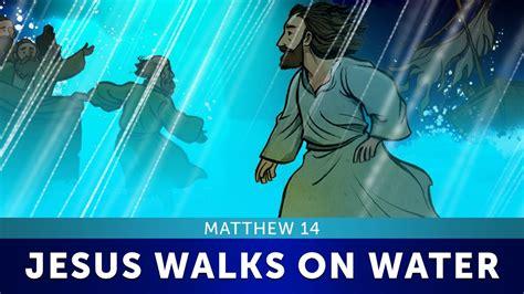 Jesus and Peter Walk on Water - Matthew 14   Sunday School ...