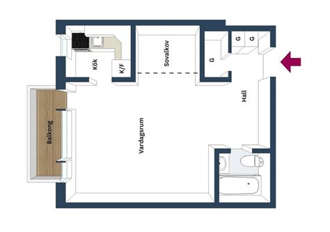 Kitchen Plan Ideas - 4 awesome small studio apartments with lofted beds