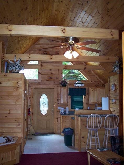 Log Cabin Tub by Cozy Log Cabin Deck W