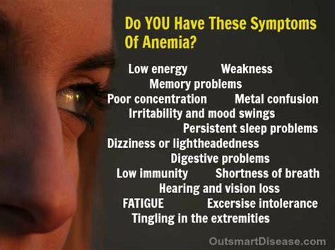 25+ Best Ideas About Anemia Symptoms On Pinterest