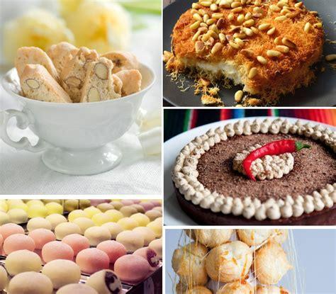 24 tradicionāli saldumi dažādās pasaules malās. Receptes ...