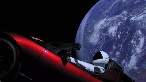 View Where Is The Tesla Car That Was Launched Into Space PNG