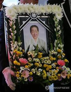 Funeral held for victim of Japan's wartime sex slavery ...
