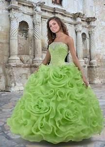 lime green wedding dresses