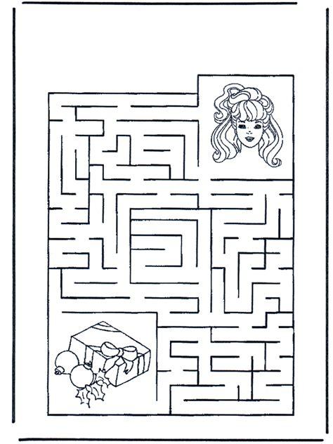 labyrint maedchen basteln labyrinth