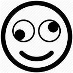 Face Funny Icon Emoji Smiley Eyes Svg