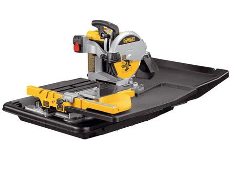 Dewalt Tile Saw by Dewalt D24000 Tile Saw With Slide Table 110 Volt