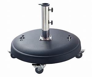 Schirmständer 50 Kg : schirmst nder sonnenschirmst nder betonst nder sonnenschirm 50kg rund mit rollen 4050747805075 ~ Watch28wear.com Haus und Dekorationen
