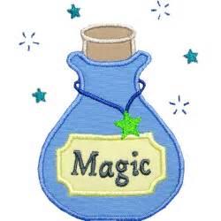 magic potion applique design