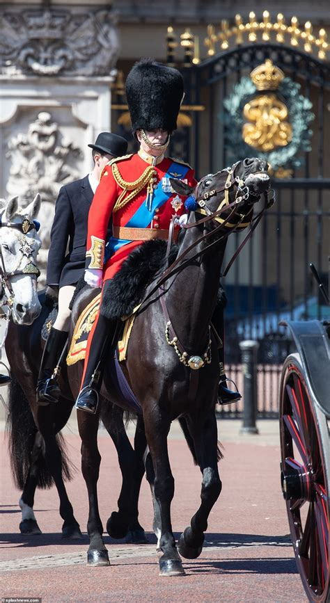 Two guardsmen faint during Trooping the Colour rehearsals ...