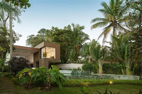 Architectural Beauty Blends With The Nature In Brazil