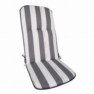 Coussins Chaises De Jardin : coussin avec dossier chaise jardin achat vente pas cher ~ Dode.kayakingforconservation.com Idées de Décoration