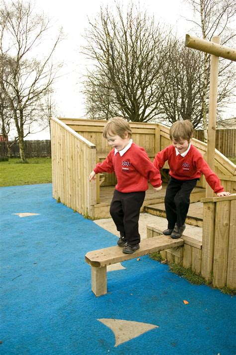 rudheath primarys  school playground equipment