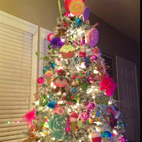 candy land christmas tree christmas trees pinterest