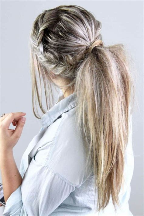 simple ponytail hairstyles  everyday sheideas