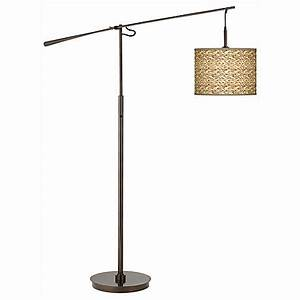 nevada oil rubbed bronze adjustable floor lamp 3n149 With floor lamp with seagrass shade