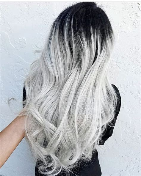 black and white hair color discover your color at bellacapellinapa