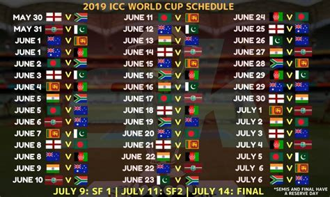 world cup  schedule  time table  schedule pic