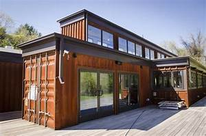 House Built From Shipping Containers | Container House Design