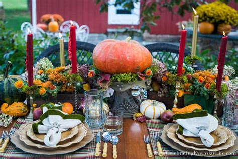Entertaining Not Far Fall by A Fall Tablescape Welcome Autumn Celebrating Everyday