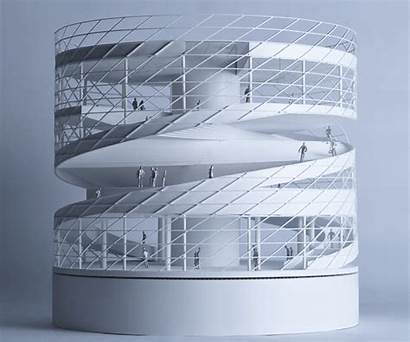 Stage Heli Concept Atah Spiral Textile Structure