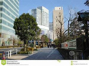 Street View In Nagano City, Japan Editorial Photography ...