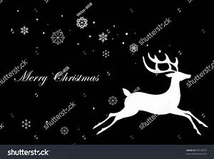 Black And White Cards Black And White Christmas Card Stock Vector Illustration