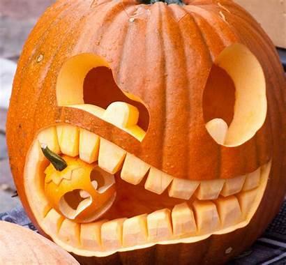 Halloween Pumpkin Carving Funny Pompoen Pumpkins Decorating