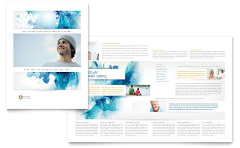 Counseling Brochure Templates Free by Behavioral Counseling Brochure Template Design
