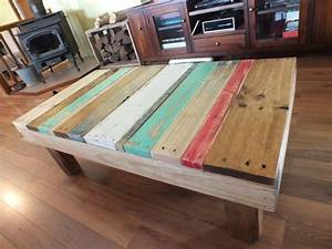 coffee tables ideas nautical themes beach style coffee With beach wood coffee table