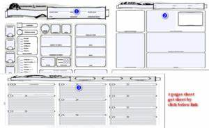 Dungeons And Dragons 5 Edition Deutsch Pdf Download : printable 5e character sheet dnd printable sheet 300 184 printable pages ~ Orissabook.com Haus und Dekorationen