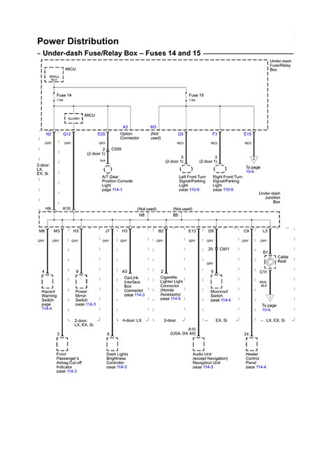 repair guides wiring diagrams wiring diagrams 87 of 136 autozone