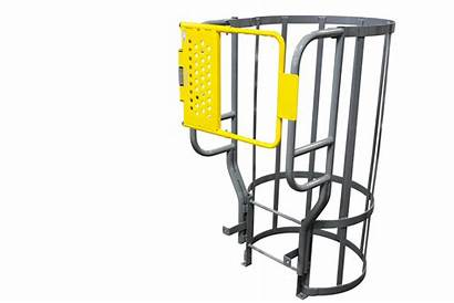 Fixed Ladders Cotterman Safety Gate Gates Steel