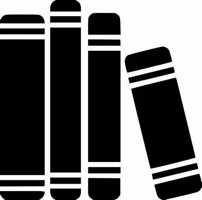 Library Icon Books Office Documents Svg Archive